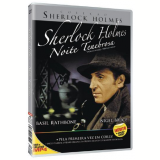 Sherlock Holmes - Noite Tenebrosa (DVD) - Nigel Bruce, Basil Rathbone