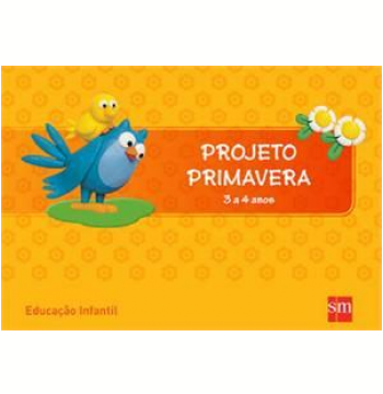 Primavera 3 A 4 Kit - Educação Infantil
