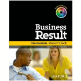 Business Result Intermediate Student Book With Dvdrom Pack -