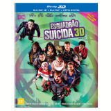 Esquadrão Suicida - Blu-ray 3d + 2 Discos Blu-ray + Cópia Digital (Blu-Ray) - Will Smith, Viola Davis, Jared Leto