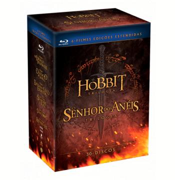Coleção Terra Média - Edições Estendidas (Blu-Ray)