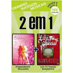 Eternamente Mulheres + Live TV Special Rom�ntico (DVD)