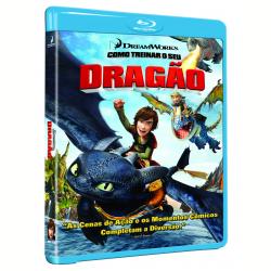 Blu - Ray - Como Treinar o Seu Dragão - Chris Sanders ( Diretor ) , Dean DeBlois ( Diretor ) - 7890552102085