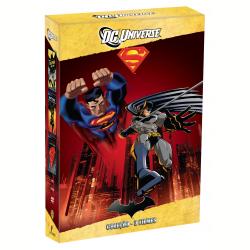 DVD - Coleção Dc Universe: Batman Ano Um / Batman O Cavaleiro De Gotham / A Morte Do Superman - Desenho - 7892110137225