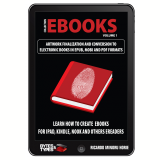 eBooks Collection - Artwork finalization and conversion to electronic books in ePub, Mobi and PDF formats (Ebook) - Ricardo Minoru Horie