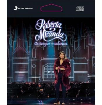Roberta Miranda - Os Tempos Mudaram Ao Vivo - Epack (CD)