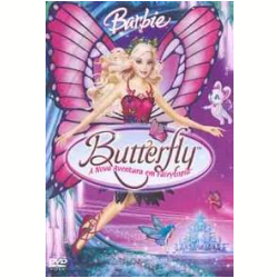 DVD - Barbie Butterfly - Tabitha St. Germain, Kathleen Barr, Kelly Sheridan - 7892141413015