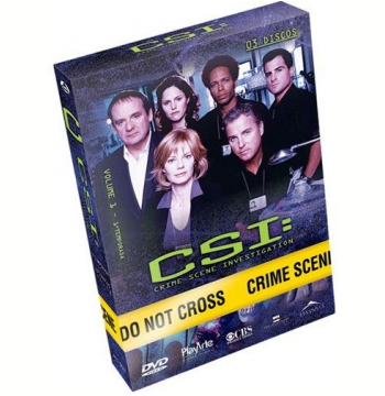 CSI - 1ª Temporada - Volume 1 (DVD)