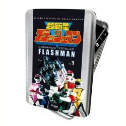DVD - Box Comando Estelar Flashman - Lata - Minoru Yamada ( Diretor ) - 7898922989038