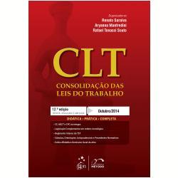 Clt: Consolidação das Leis do Trabalho - 2015 (9788530958886)