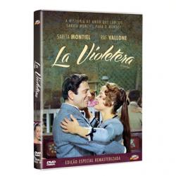 DVD - La Violetera - Raf Vallone, Tomás Blanco - 7898366219500