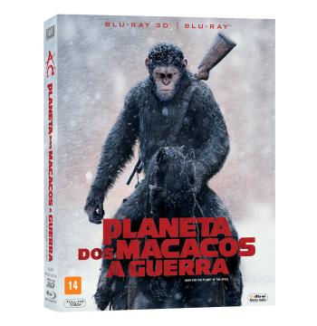 Planeta dos Macacos - A Guerra (Blu-Ray 3D + Blu-Ray)