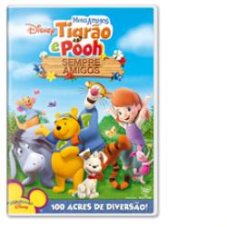 DVD - Meus Amigos Tigrão e Pooh: Sempre Amigos - 7899307908927