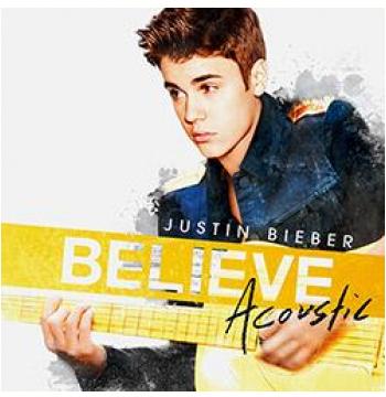 Justin Bieber - Believe Acoustic (CD)