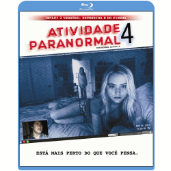 Blu - Ray - Atividade Paranormal 4 - Katie Featherston - 7899587904008