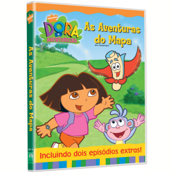 DVD - Dora a Aventureira - As Aventuras do Mapa - Eric Weiner ( Diretor ) , Chris Gifford ( Diretor ) , Valerie Walsh ( Diretor ) - 7890552065793