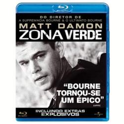 Blu - Ray - Zona Verde - Matt Damon, Brendan Gleeson, Greg Kinnear - 7892141105330