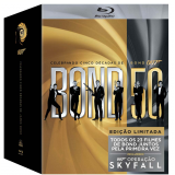 Box 007 Bond - 23 Filmes (Blu-Ray) -