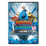 Monstros Vs Aliens - Volume 1 (DVD) -