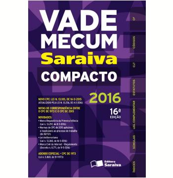 Vade Mecum Compacto Saraiva - 2016
