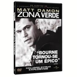DVD - Zona Verde - Matt Damon, Brendan Gleeson, Greg Kinnear - 7892141417297