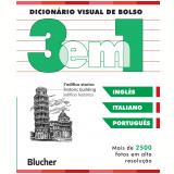 Dicionário Visual de Bolso - 3 em 1 - Inglês/ Italiano/ Português - Dorling Kindersley Book