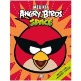 Meu Kit Angry Birds Space Inclui 1 Livro + Adesivos + 1 Poster - Rovio Books