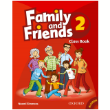 Family And Friends 2 Class Book With Multirom Pack - Naomi Simmons