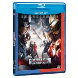 Capitão América: Guerra Civil (3D) (Blu-Ray) - Vários (veja lista completa)
