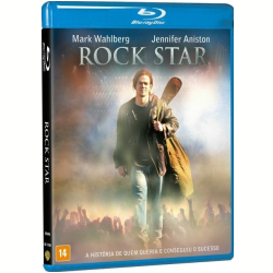 Blu - Ray - Rock Star - Timothy Olyphant, Jennifer Aniston, Timothy Spall - 7892110190947