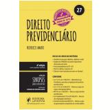 Sinopses Para Concursos, Vol. 27 - Direito Previdenciario - Frederico Amado