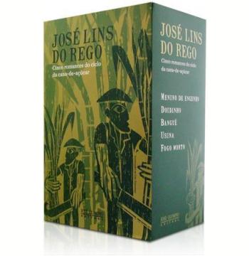Box Ciclo da Cana-de-Açúcar - José Lins do Rego