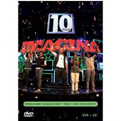 DVD - Imaginasamba - Imagina 10 Anos ( CD ) + - Imaginasamba - 0825646472635