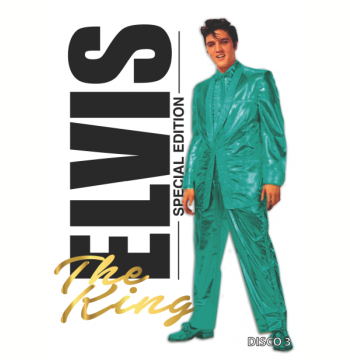 Box Elvis Presley - The King (DVD)