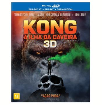 Kong - A Ilha da Caveira (Blu-Ray 3D) + (Blu-Ray)
