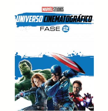 Marvel Universo Cinematográfico - Fase 2 (DVD)