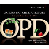 Oxford Picture Dictionary (4 Cds) - Second Edition (CD) - Norman Shapiro