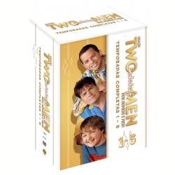 DVD - Two And a Half Men - Two and a Half Men - 1ª a 5ª Temporadas Completas - Charlie Sheen - 7892110113083