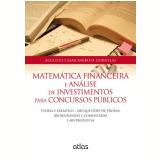 Matem�tica Financeira E An�lise De Investimentos Para Concursos P�blicos - Augusto Cesar Barbosa Dornelas