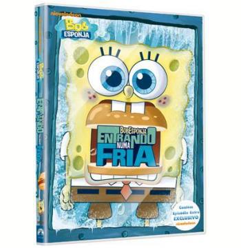 Bob Esponja Entrando Numa Fria (DVD)