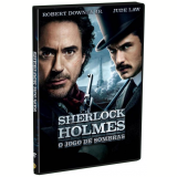 Sherlock Holmes - O Jogo de Sombras (DVD) - Jared Harris, Jude Law, Robert Downey Jr.