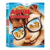Trilogia Alvin E Os Esquilos (Blu-Ray) - Jason Lee, Cameron Richardson