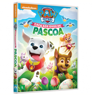 Paw Patrol: Caça Aos Ovos De Páscoa (DVD)