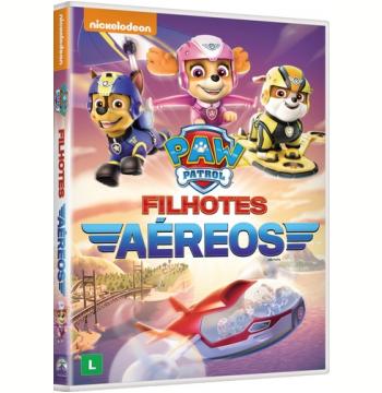 Paw Patrol: Filhotes Aéreos (DVD)