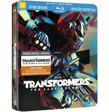Transformers - O Último Cavaleiro (Steelbook) (Blu-Ray)