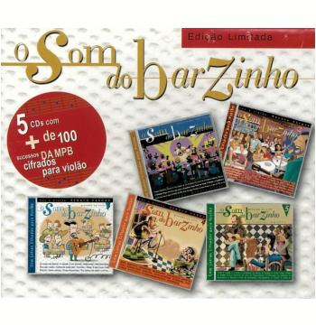 Box Renato Vargas - O Som Do Barzinho (5 Cds) (CD)