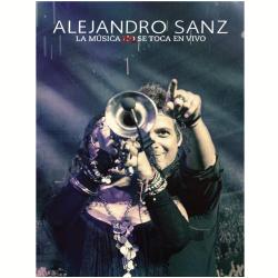 DVD - Alejandro Sanz - La Musica No Se Toca En Vivo ( CD ) + - Alejandro Sanz - 602537575312