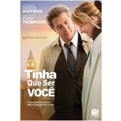 DVD - Tinha Que Ser Você - Emma Thompson, Dustin Hoffman, Richard Schiff - 7899154509377