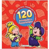 120 Atividades E Passatempos - Vermelho - Gabriel Cortina