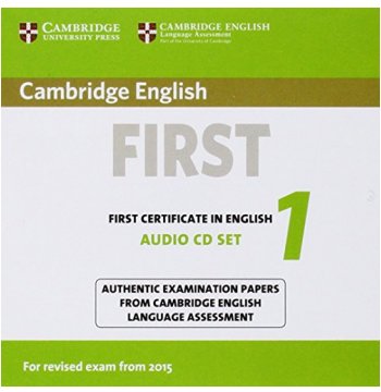 Cambridge English First 1 For Revised Exam From (CD)